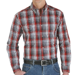 Wrangler  - Rugged Wear Plaid Shirt