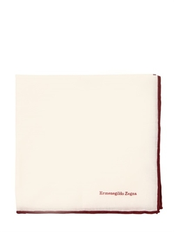 Ermenegildo Zegna - Cotton Voile Pocket Square