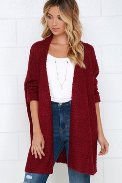 LuLu*s - Cup Of Cozy Cardigan Sweater