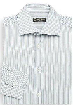 Corneliani Narrow  - Striped Cotton Dress Shirt