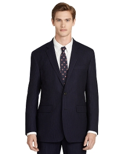 Brooks Brothers - Wool Pinstripe Suit