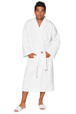 Soft Touch Linen - Terry Kimono Bathrobe