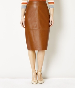 Austin Reed - Viyella - Leather Pencil Skirt