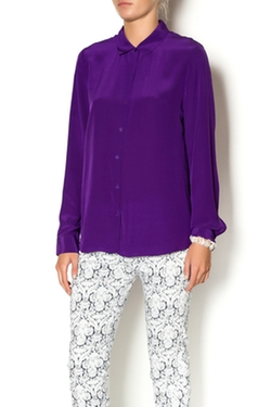 Shoptiques - Ultraviolet Long Sleeve Blouse