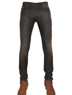 Saint Laurent  - Skinny Fit Stretch Denim Jeans