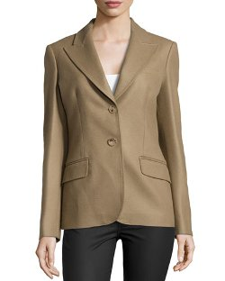 Michael Kors - Felted Two-Button Jacket