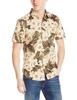 Original Penguin - Floral Printed Poplin Woven Shirt