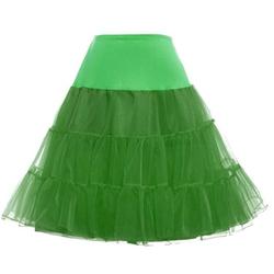 Zxzy - Rockabilly Petticoat Skirt