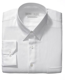 Geoffrey Beene - Sateen Solid Dress Shirt