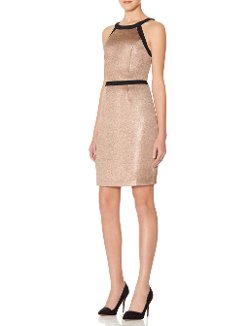 The Limited - Halter Shine Sheath Dress