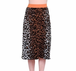 Stella McCartney - Cheetah-Print Slim Skirt
