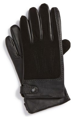 Ted Baker London  - Suede & Leather Gloves