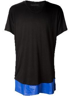 EN NOIR  - bamboo underlay t-shirt