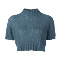 Rachel Comey   - Ribbed Cropped Top
