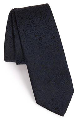 Z Zegna  - Paisley Woven Tie