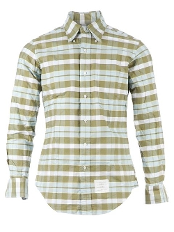 Thom Browne - Button Down Check Shirt