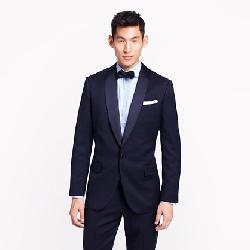 Ludlow  - Shawl Collar Tuxedo Jacket With Double Vent In Italian Wool