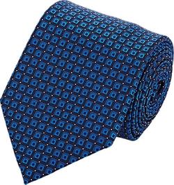 Brioni - Micro-Square Jacquard Necktie