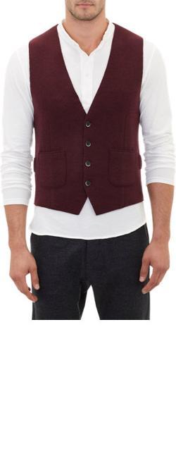 Barena Venezia - Brushed Wool Waistcoat