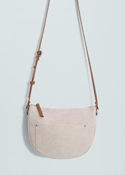 Mango - Jute Cross-Body Bag