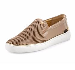 Michael Michael Kors - Kyle Perforated Suede Slip-On Sneakers