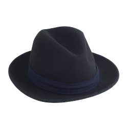 The Hill Side - Wool Fedora Hat