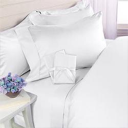 JS Sanders  - Egyptian Cotton 4 Piece Bed Sheet Set