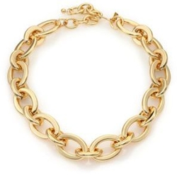 Kenneth Jay Lane - Polished Link Necklace