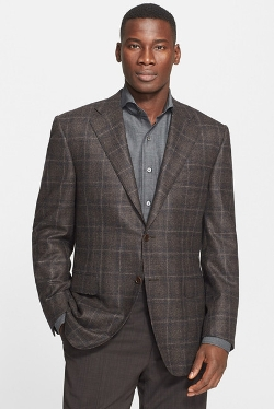 Canali - Classic Fit Plaid Sport Coat
