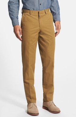 Wallin & Bros.  - Flat Front Twill Trousers