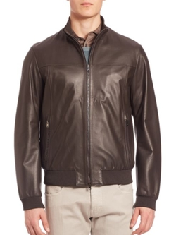 Pal Zileri  - Leather Jacket