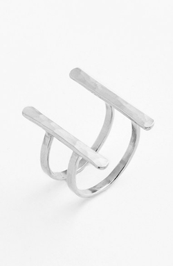 IJA - Double Bar Open Ring