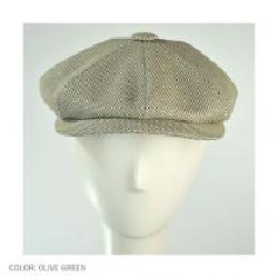 City Sport Caps - Knit Cotton Newsboy Cap