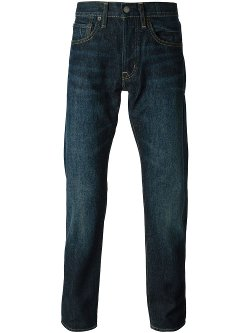 Ralph Lauren Denim & Supply  - Washed Effect Regular Fit Jeans