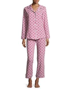 Bedhead - Damask Printed Classic Pajama Set