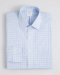Brooks Brothers - Regular Fit Check Dress Shirt