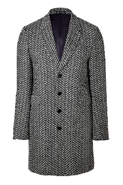 PS By Paul Smith - Wool Gents Overcoat