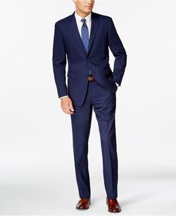 Perry Ellis - Twill Slim-Fit Suit