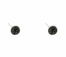 Victoria Greenhood Jewelry Design - Small Druzy Stud Earrings