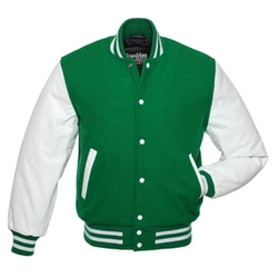 Stewart & Strauss - Leather Varsity Jacket