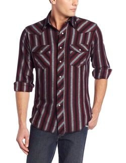 Wrangler  - Flannel Stripe Shirt