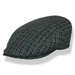 Borsalino - Ivy Style Grey Check Cap
