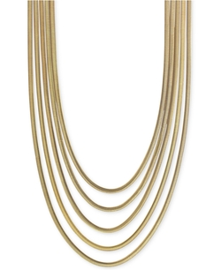 Vince Camuto - Multi-Layer Snake Link Chain Necklace