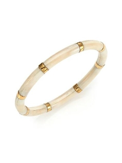 A Peace Treaty  - Kuvu Bone Bangle Bracelet