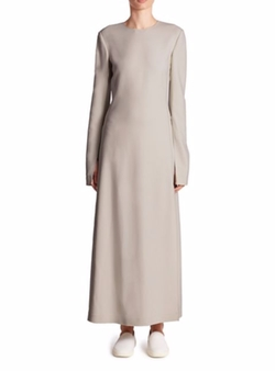 Calvin Klein Collection  - Koko Piped Long-Sleeve Maxi Dress