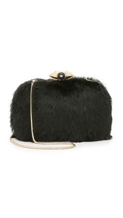Diane Von Furstenberg - Fur Evil Eye Minaudiere Bag