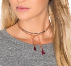 Shashi - Rachel Wrap Choker Necklace