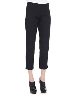 Eileen Fisher   - Twill Slim Ankle Pants