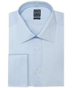 Ike Behar  - Solid French Cuff Shirt