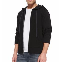 James Perse - Cotton-Knit Zip Hoodie